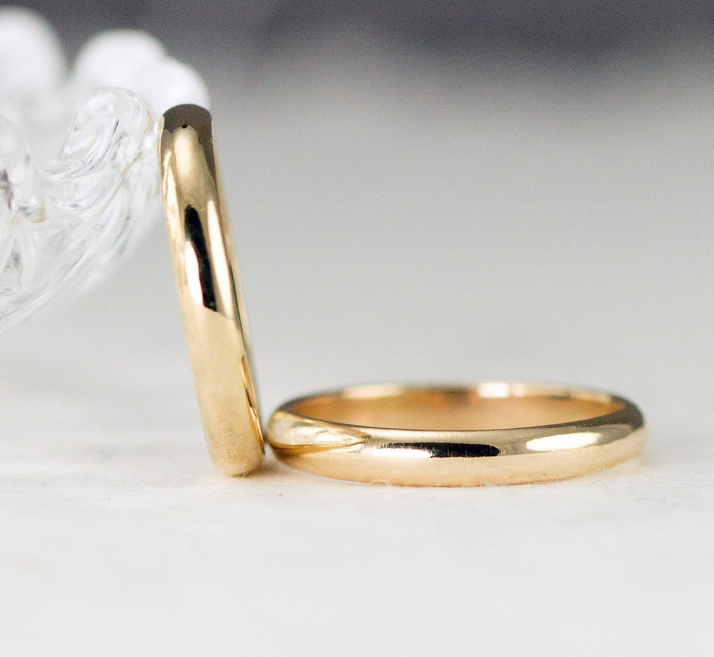 made gold thin band carat alice ring products bands this polished bancroft wedding