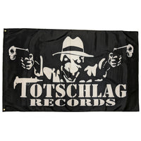 Totschlag Records Flag, 150cm x 90cm (3 x 5 FT)
