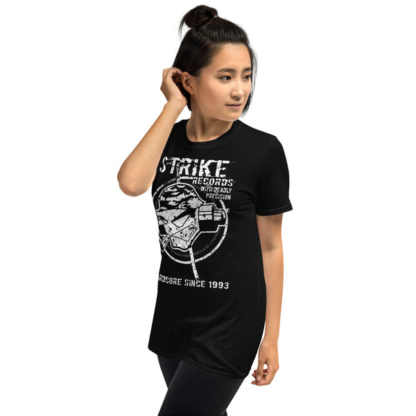 "Strike Records Unisex-T-Shirt ""With Deadly Precision"""
