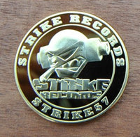 STRIKE57: 20 Years Strike Records 1993-2013 Gold Plated Coin
