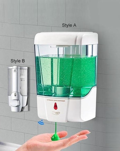 automatic soap or sanitizer dispenser