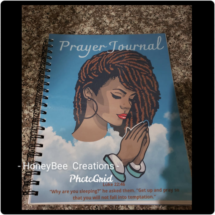 Prayer Journal (Customizable with your image)