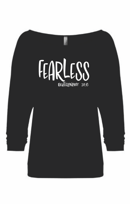 Fearless Deuteronomy 31:6 Shirt