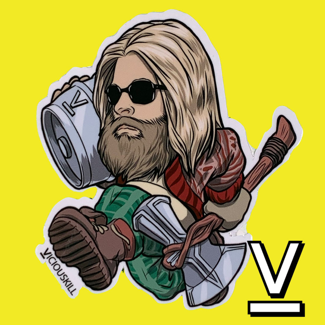 Bro Thor Decal