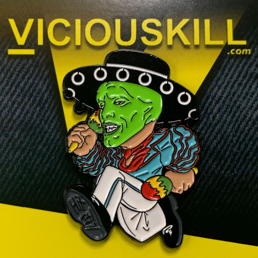 The MASK enamel pin