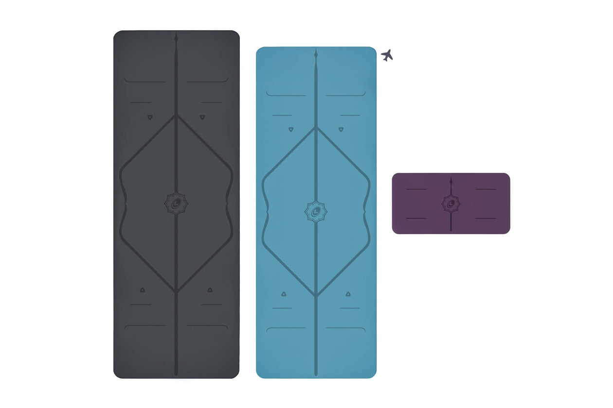 Liforme Yoga Mat, Travel and Pad Bundle image 4