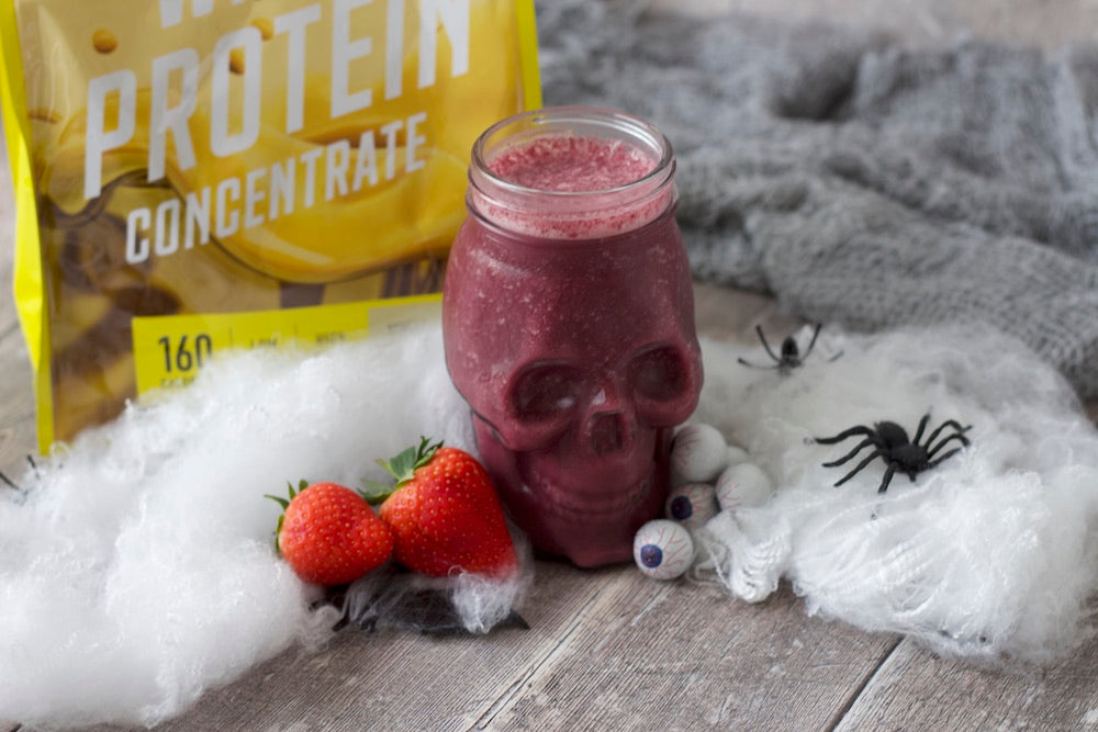 slender high protein smoothie with fruit and vegetables