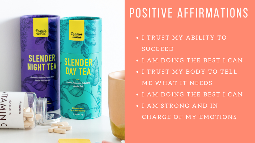 positive affirmations with protein world