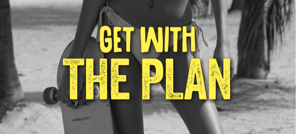 get with the plan banner