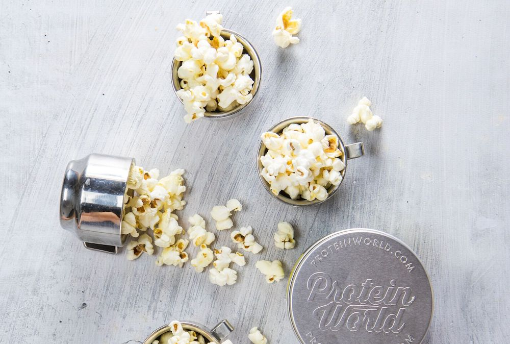 Healthy Homemade Popcorn