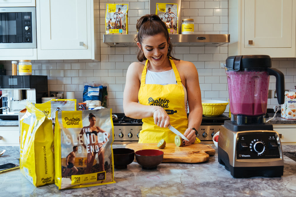 meal prep with protein world