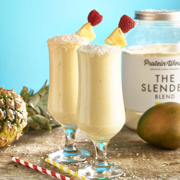 Pineapple and chia smoothie