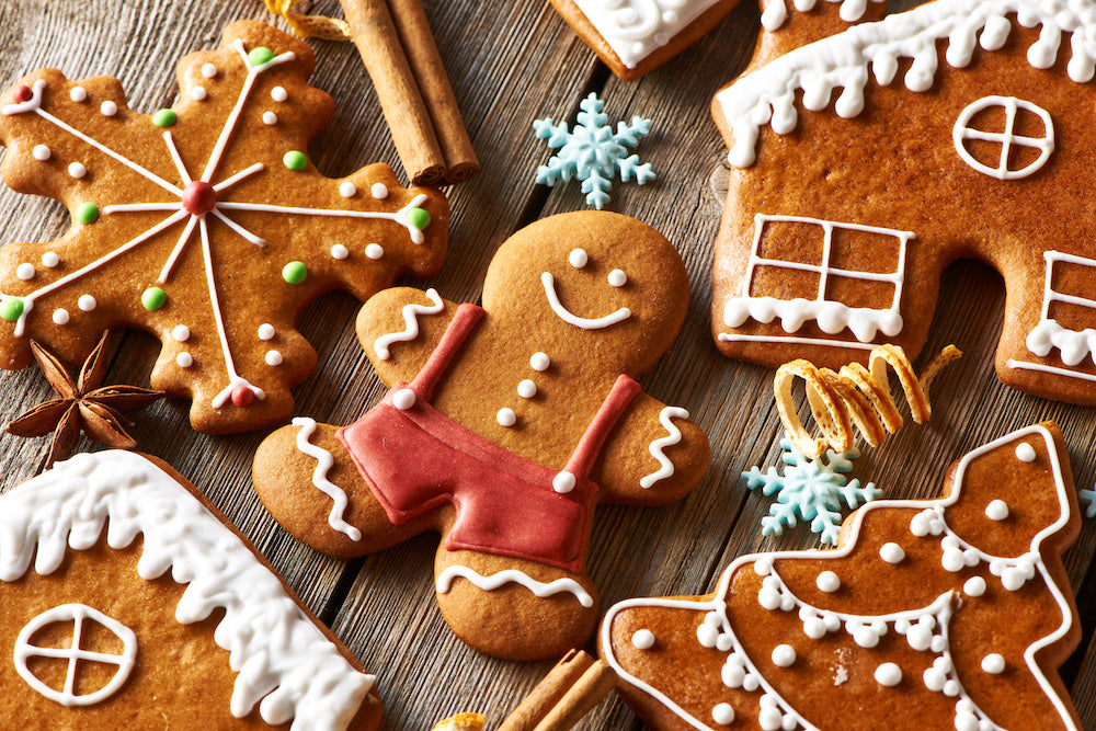 christmas protein gingerbread