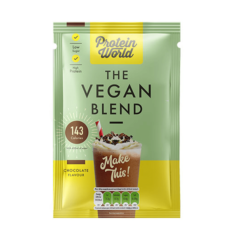 The Vegan Blend Sachets - ProteinWorld.com