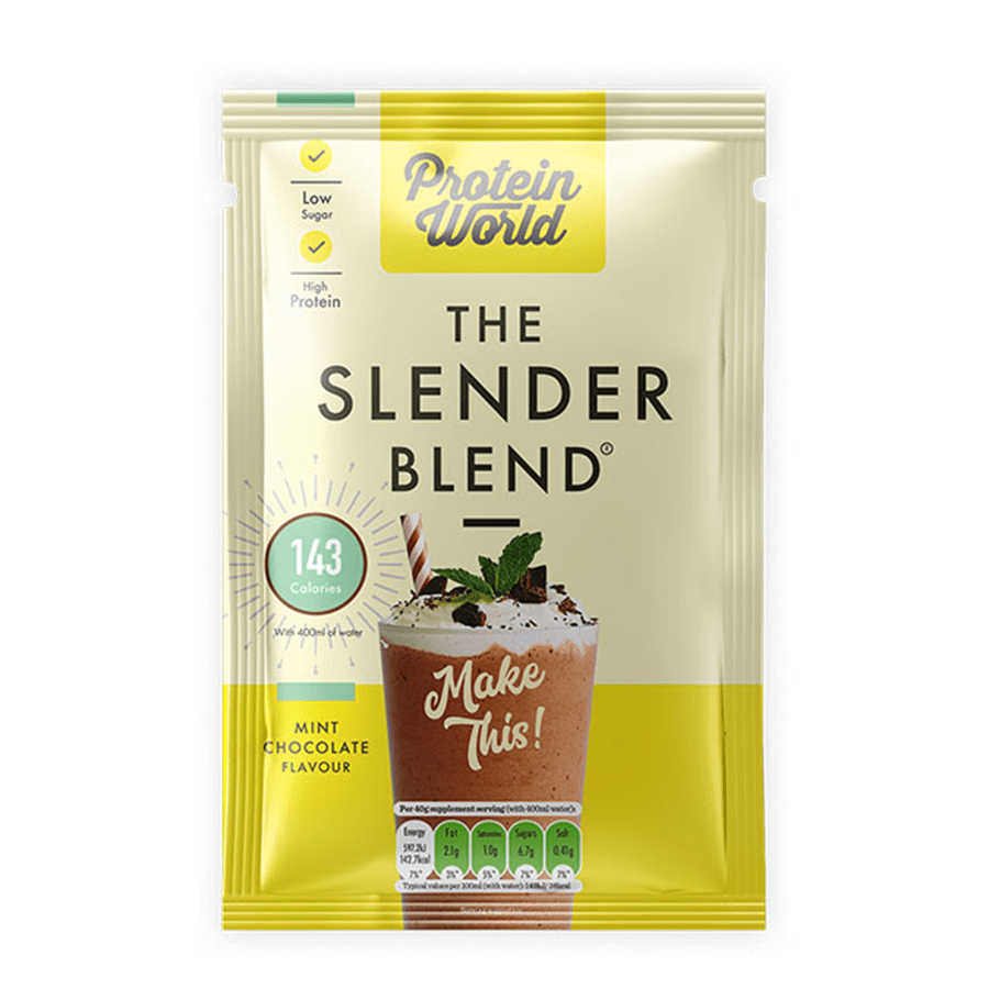 The Slender Blend Sachets - ProteinWorld.com