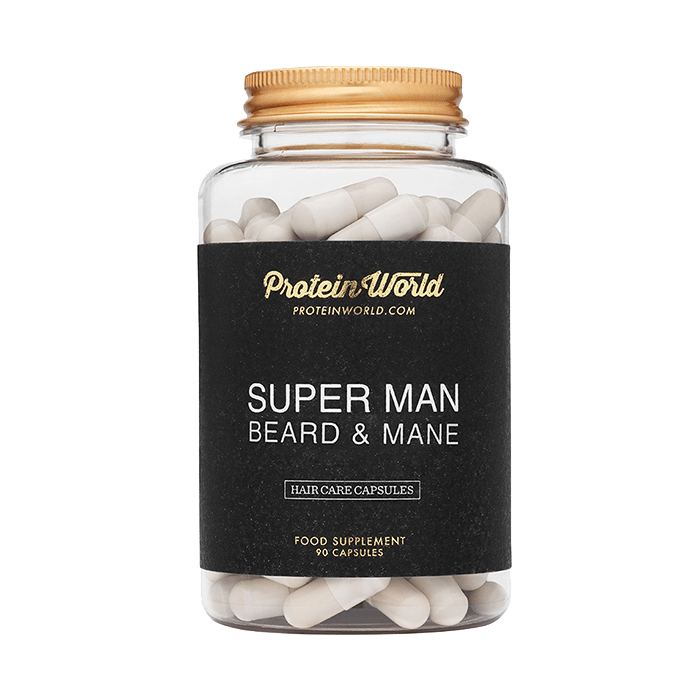 Super Man Beard & Mane