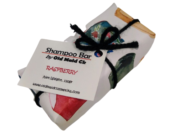 Raspberry Scented Shampoo+Soap Bars ***SPECIAL FOR TRAVELERS***