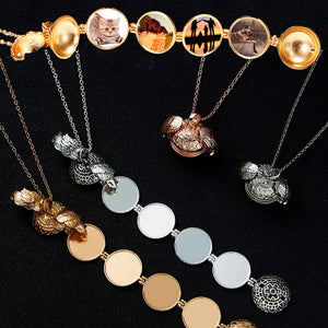 Angels Wings - Multi Photo Locket