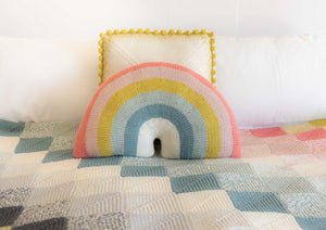 Over-the-Rainbow Pillow