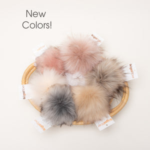 Wholesale Faux Fur Pom Poms