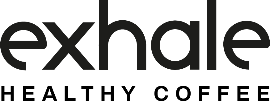 exhale healthy coffee logo