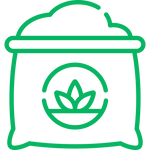 icon for organically farmed coffee