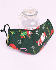 Christmas Mixed Print Breathable Face Mask