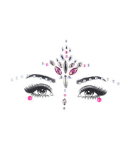 Face Gems Tattoo Stickers Acrylic Crystal Glitter Stickers