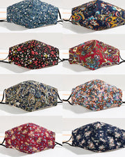 Floral / Paisley Print Breathable Face Mask