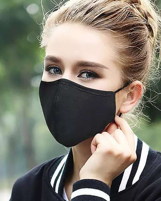 Floral / Pineapple / Cheetah Print Ear Loop Breathable Mouth Mask