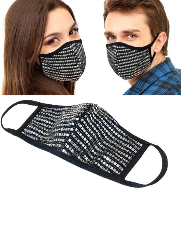 Sequins Breathable Mouth Mask Reusable
