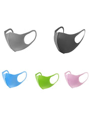 5PCS/Set Randomly Dispatched Breathable Windproof Face Mask(Colors/Patterns Sent Randomly)