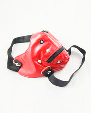 Breathable Zipper Punk Leather Motorcycle Biker Face Mask