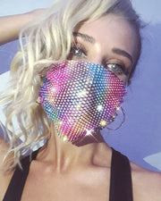 Studded Breathable Mouth Mask Reusable