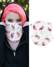 Flamingo Print Breathable Face Bandana Magic Scarf Headwrap Balaclava