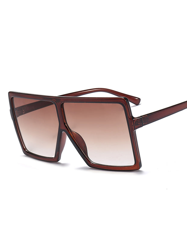 Stylish Big Square Frame Sunglasses