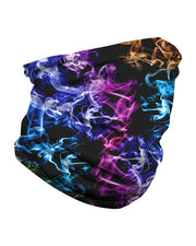 Smoke Print Breathable Face Bandana Magic Scarf Headwrap Balaclava