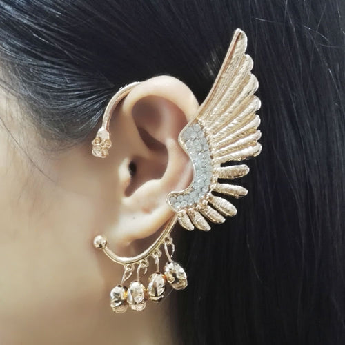 Angel wings and ear clips