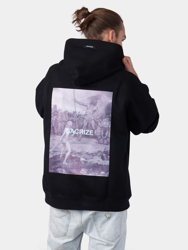 David and Goliath Christian Hoodie