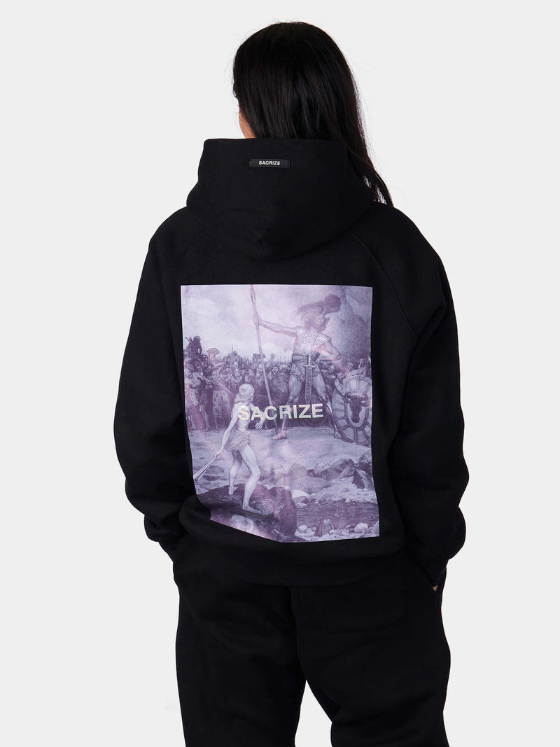David and Goliath Zip Up Hoodie