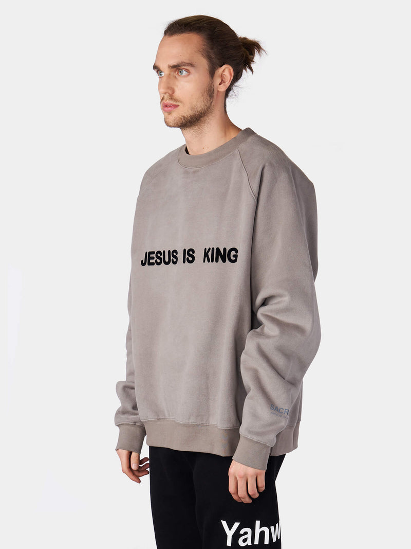 Jesus Is King Crewneck Sweatshirt