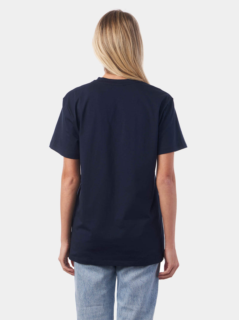 Metallic Print Lord Navy Christian T-Shirt | SACRIZE