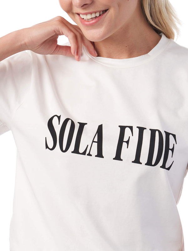 Sola Fide By Faith Alone Christian T-Shirt | SACRIZE