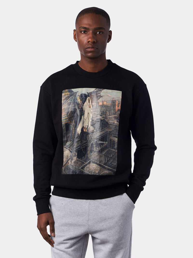 Temptation of Christ Jesus Sweatshirt | SACRIZE