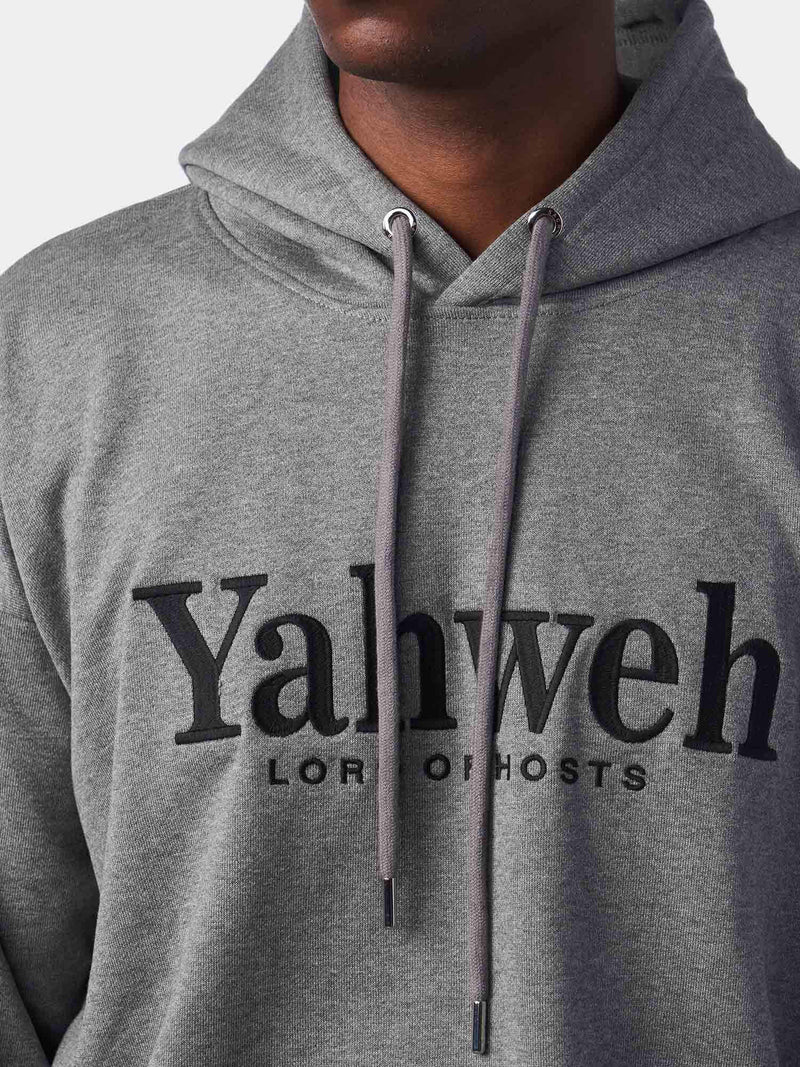 Yahweh Embroidered Christian Hoodie | SACRIZE
