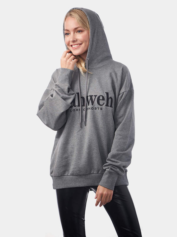 Yahweh Embroidered Unisex Christian Hoodie | SACRIZE