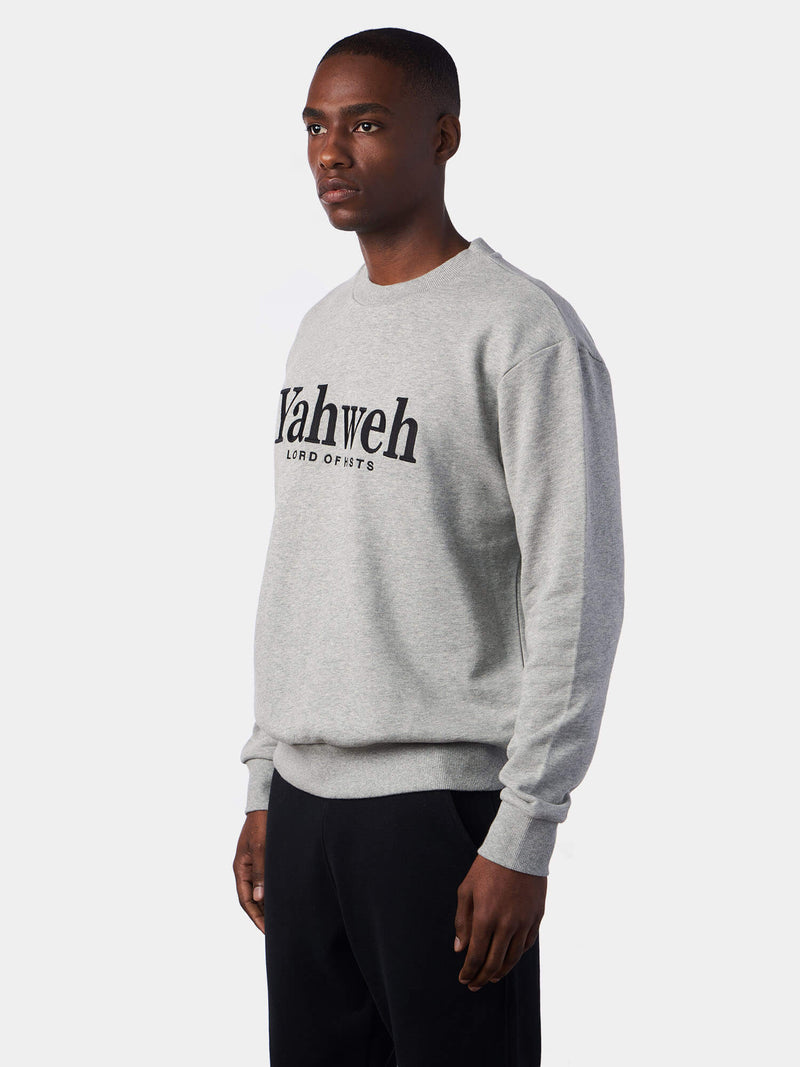 Yahweh Lord of Hosts Embroidered Christian Sweatshirt | SACRIZE