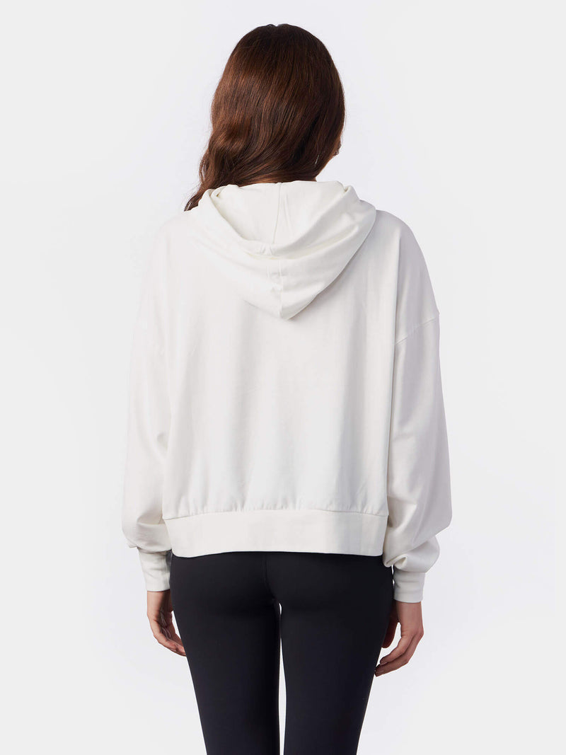 Yahweh Lost of Hosts White Christian Hoodie | SACRIZE