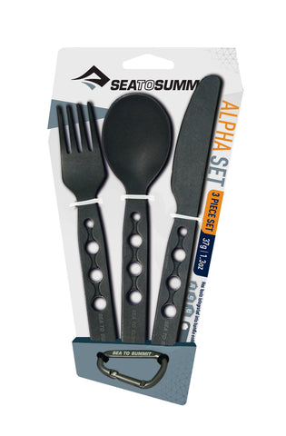 Alpha 3 Piece Cutlery Set