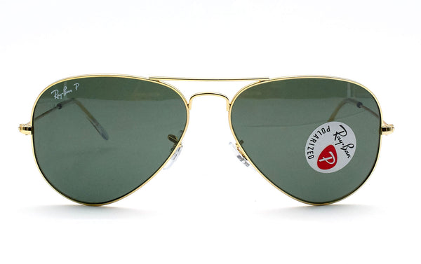 RAY BAN AVIATOR 3025L 001/58 POL - Opticas Lookout